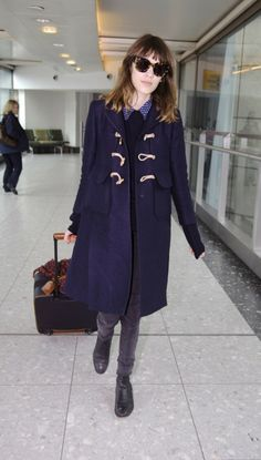 Alexa Chung, airport style