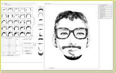 Juegos para detectives: crea tu retrato robot. - Fredo Cacahuete web