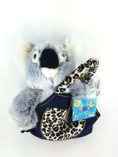 Webkinz Signature Koala Bear Sealed Code In a Plush Pet Carrier! This is a really cute Webkinz Signature Koala Bear Sealed Code In a Plush Pet Carrier! Webkinz Signature, Pet Carriers, Purses For Sale, Pretty Cats, Plush Animals, Toy Sale, Guinea Pigs, Giraffe, Teddy Bear