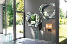 Fiam Italia Lucy Wall Mirror Glass 10Wx117Hx153CM / Fiam Italia Collection at www.mayfairhomefurniture.com