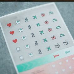 A little Bling for your planner...Social Butterfly Stickers from Start Planner