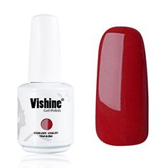 Vishine Gelpolish Professional UV LED Soak Off Varnish Color Gel Nail Polish Manicure Salon IndianRed1412 *** Be sure to check out this awesome product.Note:It is affiliate link to Amazon.