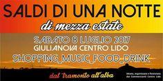 SALDI DI UNA NOTTE di mezza estate - Giulianova | Eventi Teramo #eventiteramo #eventabruzzo