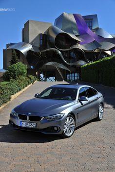 BMW 4 Series Gran Coupe Individual Frozen Cashmere Silver - http://www.bmwblog.com/2014/05/23/bmw-4-series-gran-coupe-individual-frozen-grey/