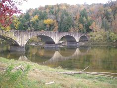 Gatliff Bridge above Cumberland Falls, Corbin Kentucky