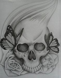 Skull art #skull