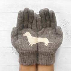 My design inspiration: Doxie Gloves Beige on Fab.