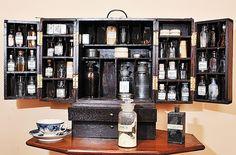American Civil War - field medical kit.