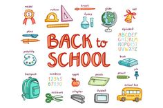 Check out Back to School by Stolenpencil on Creative Market