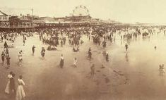 New Jersey Museums (Photo:  New Jersey History - Atlantic City Boardwalk historic photo)