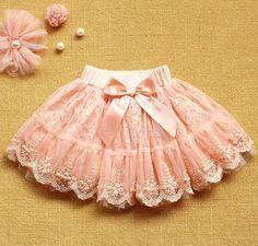 Pink Lace Skirt-Tutu Skirt For Girls-Baby Tutu Skirt-Tutu Skirt-Party Tutu Skirts With Bow And Pearls Baby Girl Tutu, Baby Girl Dresses, Baby Dress, Baby Girls, Toddler Dress, Toddler Girls, Baby Ballerina, Hot Girls, Little Girl Skirts