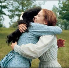 Anne and Diana from Anne of Green Gables