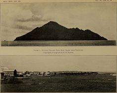 ▲ Saba - Seascape → Bulletin of the Geological Society of America (1905)