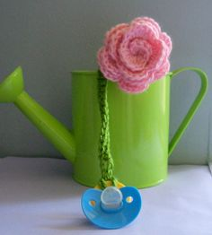 Crochet Paci Corsage
