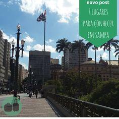 Vai pra Sampa ficar poucos dias? Minhas dicas de 7 lugares super bacanas pra turistar em São Paulo!  #saopaulo #sampa #sp #turismo #viajantes #passageira #lugares #travellers #brazil #metropoles #tourist #tour #travelblogs #travelblogger #rsbloggers
