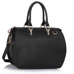 Geanta trendy, de culoare neagra, cu doua manere - MuJeR.ro http://www.mujer.ro/geanta-trendy-de-culoare-neagra-cu-doua-manere