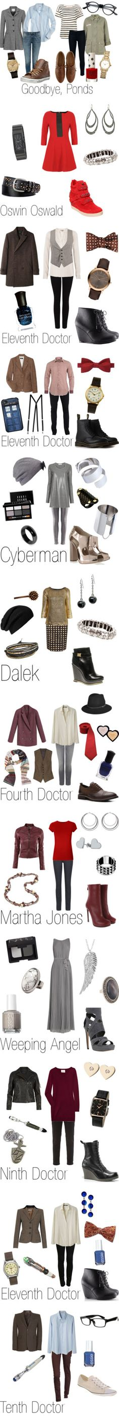 """Doctor Who & Torchwood"" by ja-vy ❤ liked on Polyvore Sorry this isn't disney but I still wanted to repin it"