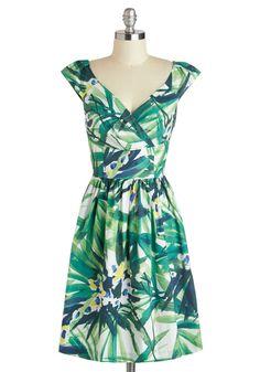 Palm Springs into Action Dress | Mod Retro Vintage Dresses | ModCloth.com