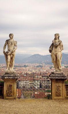 Bardini Gardens, Firenze, Tuscany, Italy