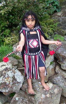New Zealand - Kapahaka Costumes. Would love one of these in the dress up corner!  sc 1 st  Pinterest & Homemade Girlu0027s Kapa Haka | polynesia | Pinterest | Maori Costumes ...