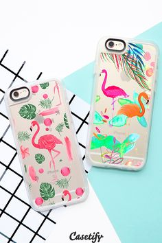 Click through to see more Flamingo iPhone 6 phone case designs. Let's get ready for summer! >>> https://www.casetify.com/collections/iphone-6s-flamingo-cases?device=iphone-6s/ | @casetify