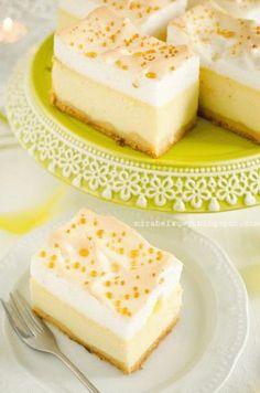 "Zdjęcie: Sernik ""złota rosa"" Cheesecake, Food And Drink, Sweets, Cookies, Desserts, Impreza, Pastel, Blog, Recipes"