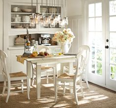 Pottery Barn White Kitchen Inspiration