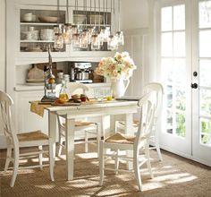 Pottery Barn White Kitchen Inspiration