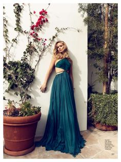 Jennifer Lawrence by Max Abadian for Flare June 2011 - love this dress