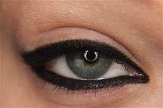 My love affair with heavy black eyeliner