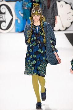 Anna Sui Fall 2012, Trend Report