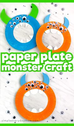 fall activities for kids This paper plate monster craft for kids a fun fall activity for kids to do for the Halloween season. It's a simple art activity for preschool and kindergarten children. Preschool Art Activities, Autumn Activities For Kids, Preschool Arts And Crafts, Preschool Halloween Crafts, Kindergarten Art Projects, Toddler Arts And Crafts, Easy Crafts For Kids, Arts And Crafts For Kids Toddlers, Paper Plate Crafts For Kids