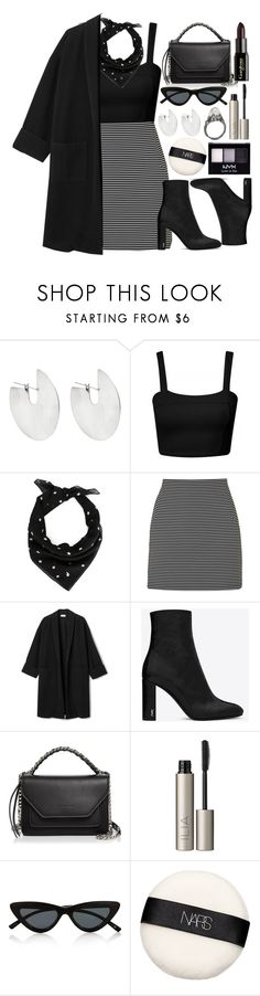 """❕"" by fashioneex ❤ liked on Polyvore featuring Fay Andrada, Yves Saint Laurent, Topshop, Elena Ghisellini, Gorgeous Cosmetics, Ilia, Le Specs, NARS Cosmetics and NYX"