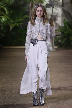 Of Course Olivia Palermo Made the Chicest Arrival to Couture Week via @WhoWhatWearUK