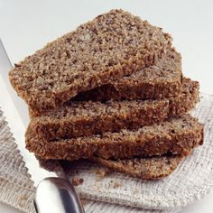 Recipe: The Mindblowing Low-Carb Flax Bread: use 3 eggs instead of 5