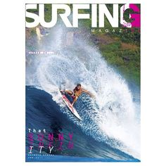 Taj Burrow. Surfing Cover.