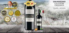 Cantine San Marzano Collezione Cinquanta ~ 96P Luca Maroni - http://weinblog.belvini.de/cantine-san-marzano-collezione-cinquanta-96p-luca-maroni