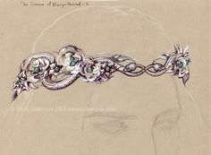 The Crown of Nargothrond (2) by Elena Kukanova (Found them on Vk)