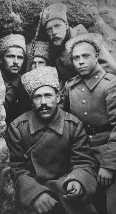 Russian soldiers, WWI