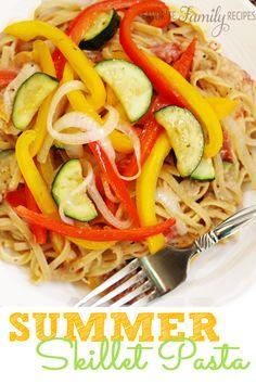 This skillet pasta h