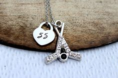 Check out this item in my Etsy shop https://www.etsy.com/listing/156692896/hockey-mom-necklace-hockey-girlfriend