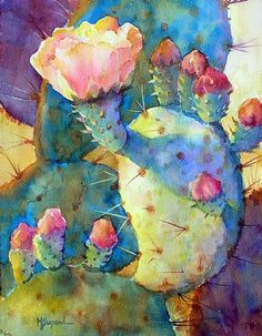 """SPRING BEAUTY by Mary Shepard Watercolor ~ image size: 14"""" x 10"""" unframed"""