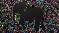 Mandalas para la pared! DIY   Zentangle Art - YouTube