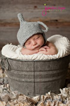 The Tin Man Hat.  Wizard of Oz collection.  Excellent photo prop. $25.00, via Etsy. This WILL be on Liam in his newborn photos!