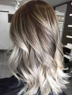 Refresh your hair look instantly with Ultra Light Ash Blonde Hair Colors Ideas 2016 - 2017