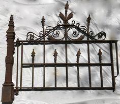 1800's Victorian Era Cast Iron Garden Gate