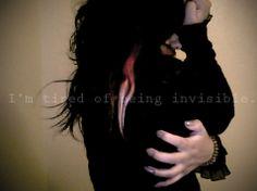 When You Feel Invisible | When You Feel Invisible.