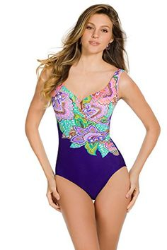 Miraclesuit Women's Pop Life One Piece Surplice Swimsuit Eggplant 8 Miraclesuit http://smile.amazon.com/dp/B00T3IZNMU/ref=cm_sw_r_pi_dp_1yV8wb15SVB6M