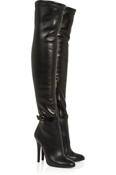 Jimmy Choo | Tamba stretch-leather over-the-knee boots