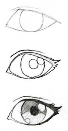 Some good eyelash info! JohnnyBro's How To Draw Manga: Drawing Manga Ey. Some good eyelash info! JohnnyBro's How To Draw Manga: Drawing Manga Eyes (Part I) - Pencil Art Drawings, Art Drawings Sketches, Cool Drawings, Kawaii Drawings, Images Of Drawings, Drawings Of Eyes, Animae Drawings, Easy Manga Drawings, Super Easy Drawings
